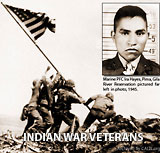 IRA HAYES FAMOUS NATIVE AMERICAN WARRIOR