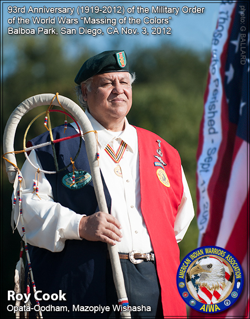 AMERICAN INDIAN WAR VETERAN