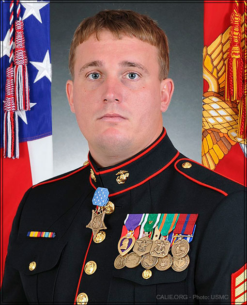 Medal of Honor recipient, Dakota Meyer USMC Portrait