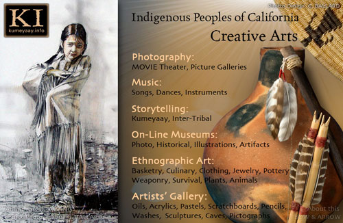 ART PORTFOLIOS OF CALIF INDIANS