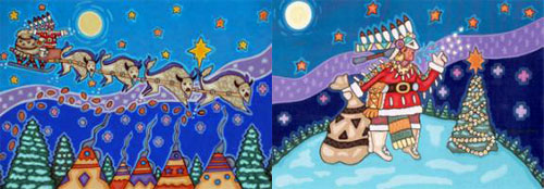 NATIVE AMERICAN CHRISTMAS DESIGNS