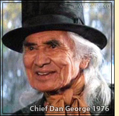 CHIEF DAN GEORGE Famous Native American Chiefs Series