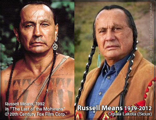 RUSSELL MEANS AMERICAN INDIAN STUDY GUIDE FOR SCHOOL CHILDREN