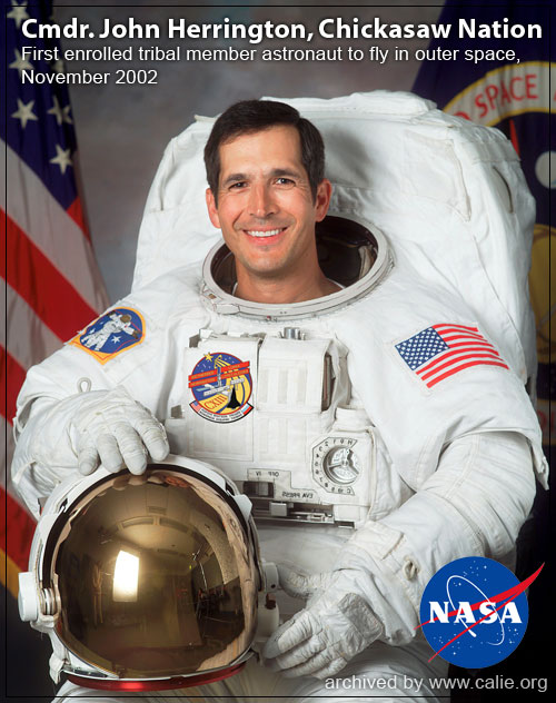HIGH RESOLUTION NATIVE AMERICAN INDIAN NASA ASTRONAUT Pictures Loading...