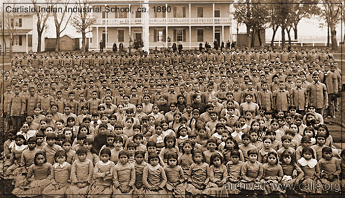 LOADING A LOT OF HIGH RESOLUTION INDIAN BOARDING SCHOOL PHOTOGRAPHS...
