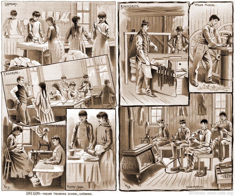 AMERICAN INDIAN BOARDING SCHOOLS EXPERIENCE circa 1850-1930