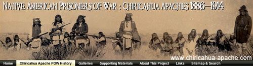NATIVE AMERICAN INDIAN PRISONERS OF WAR