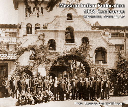 MISSION INDIAN FEDERATION MIF California Native American History ...