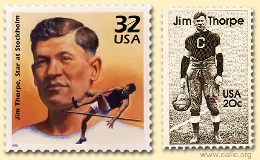 "JIM THORPE ""WORLD'S GREATEST ATHLETE"" Ultrafamous Native American ..."