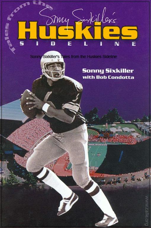 Sonny Sixkiller Native American Indian Football Legend