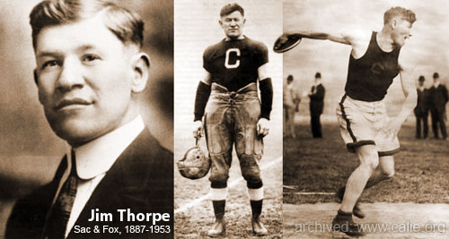 JIM THORPE PICTURES...